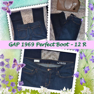 GAP Perfect Boot Jeans - Size 12R